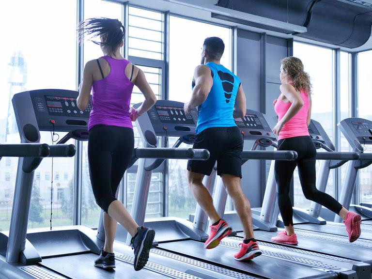 Treadmill running exercise for arthritis